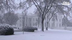 Usa: bufera di neve sulla costa est, 5mila voli cancellati