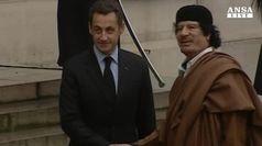 Indagato per fondi dalla Libia, Sarkozy nega