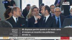 Premier francese rientra a Parigi,