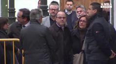 Proteste a Barcellona per l'arresto di Turull