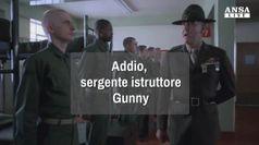 Addio, sergente istruttore Gunny