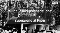 'Suoni e luci psichedeliche', quando i Floyd suonarono al Piper