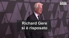 Richard Gere si e' risposato