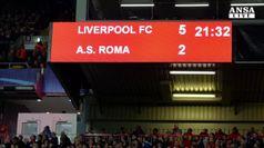 Champions, Roma ko 5-2 a Liverpool
