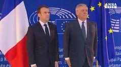 Allarme di Macron, 'l'Europa rischia una guerra civile'