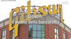 Gibson, il suono della bancarotta