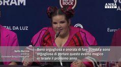Eurovision 2018, Israele vince con Netta