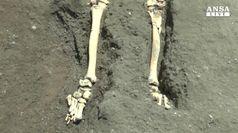 A Pompei il dramma dell'ultimo fuggiasco