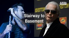 Jimmy Page e Robbie Williams, vicini e nemici