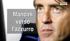 Mancini verso l'azzurro