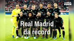 Real Madrid da record