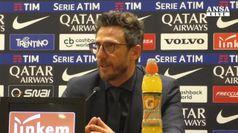 Di Francesco: 'Provato a regalare vittoria al pubblico'
