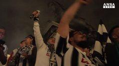 Settimo scudetto bianconero, l'esultanza dei tifosi