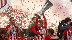 Atletico Madrid conquista l'Europa League