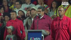 Maduro rieletto, affluenza bassa e accuse brogli