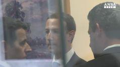 Tajani, 'Zuckerberg verra' a Eurocamera per chiarire'