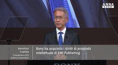 Sony compra quota di maggioranza in EMI Music