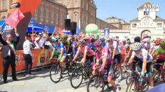 Il Giro d'Italia riparte dalla Reggia di Venaria