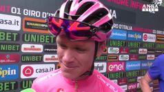 Giro d'Italia, l'emozione di Froome in rosa a Roma: