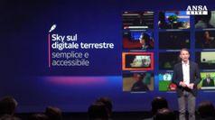 Sky lancia novita', d'ora in poi anche da digitale terrestre