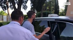 Calcio, l'arrivo di Cristante a Villa Stuart