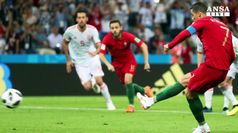 Mondiali: tripletta di Ronaldo contro la Spagna, finisce 3-3