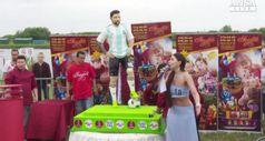 Mondiali 2018, la torta di compleanno per Lionel Messi