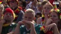 Storica eliminazione della Germania