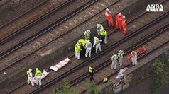 Tre persone investite da treno, morti