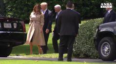 Melania contro Trump: non separare bimbi da famiglie