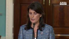 Israele, Usa escono da Consiglio diritti umani Onu