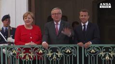 Asse Merkel-Macron, via libera al budget dell'eurozona