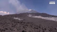 Sequenza di scosse nella zona dell'Etna