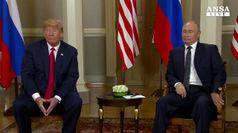 Usa-Russia, Trump invita Putin a Washington in autunno