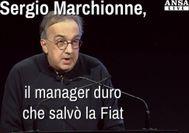 Marchionne, il manager duro che salvo' la Fiat