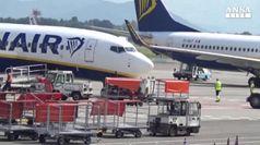 Sciopero Ryanair, molti i disagi