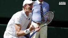 A Wimbledon gara infinita, Anderson vince dopo 6 ore e mezza