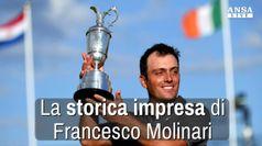 La storica impresa di Francesco Molinari