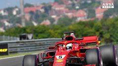F1, Vettel fa ben sperare per GPd'Ungheria