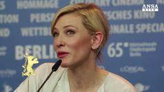 Cate Blanchett regina alla Festa di Roma
