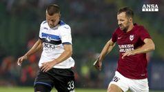 Europa League, Atalanta padrona a Sarajevo