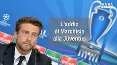 L'addio di Marchisio alla Juventus