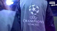 Oggi sorteggio per fase a gironi Champions