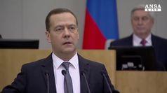 Medvedev contro le possibili sanzioni Usa