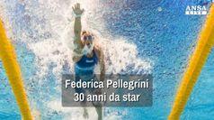 Federica Pellegrini, 30 anni da star