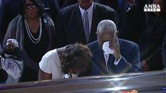 Aretha Franklin, funerali show per la regina del soul