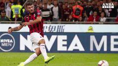 Milan-Roma 2-1, lampo di Cutrone al 95'