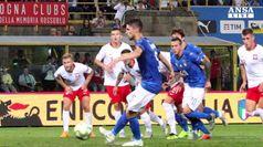 L'Italia di Mancini pareggia con la Polonia