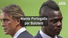 Niente Portogallo per Balotelli