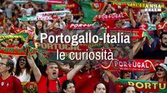 Portogallo-Italia, le curiosita'